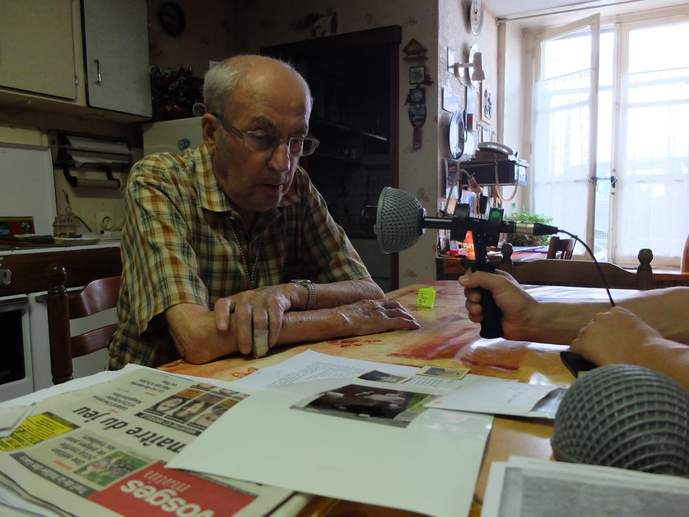 André Marulaz, un grand oncle rencontré pendant le tournage